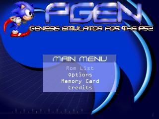 sega genesis emulator ps2 elf